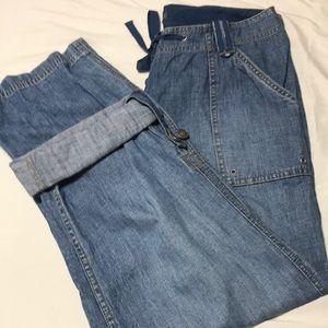 Liz Claiborne petite 10 pants or capris jeans
